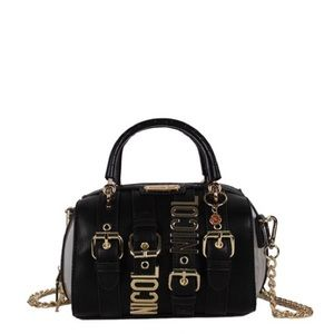 HILLIARD BELT EMBELLISH MINI HANDBAG